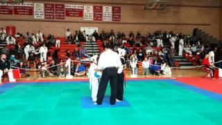 Nockout en karate infantil
