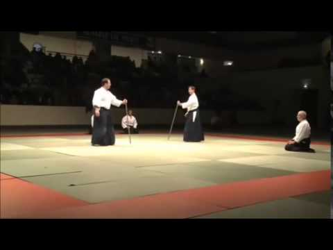 Aikido Kobayashi demonstration Paris 2010