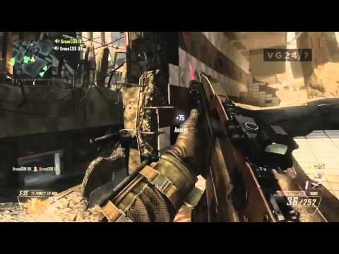 Black Ops 2 TDM Aftermath Part 2 - Multiplayer Gameplay