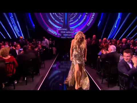 Ellie Goulding wins British Female Solo Artist | BRITs Acceptance Speeches