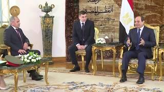 لقاء الرئيس السيسي مع وزير الدفاع الروسي