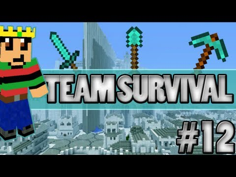 Minecraft - Team Survival #12 Een... Logo?