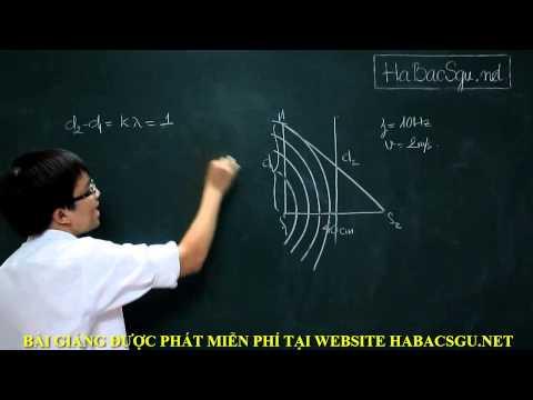 [HABACSGU.NET[ Giao thoa sóng cơ [P1]