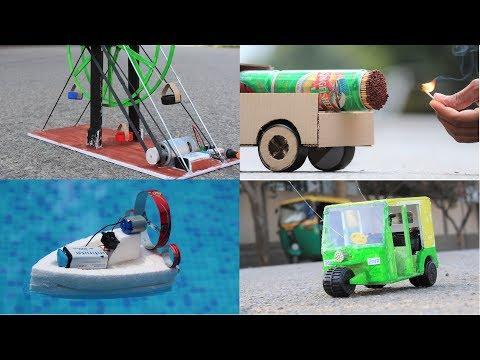 4 Amazing RC TOYs Ideas - 4 Amazing DIY toys