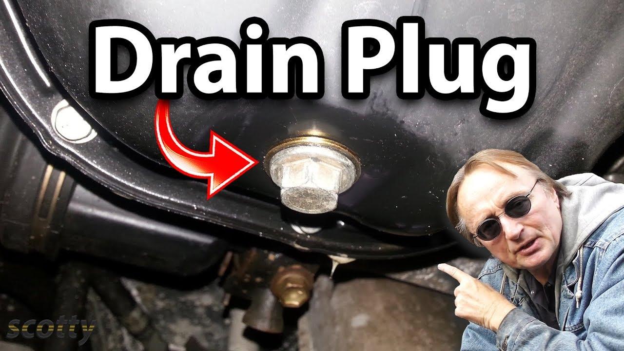 Fixing A Leaking Oil Pan Drain Plug YouTube