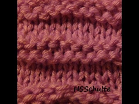 The Loom Knitting Waffle Stitch - hsschulte on HubPages
