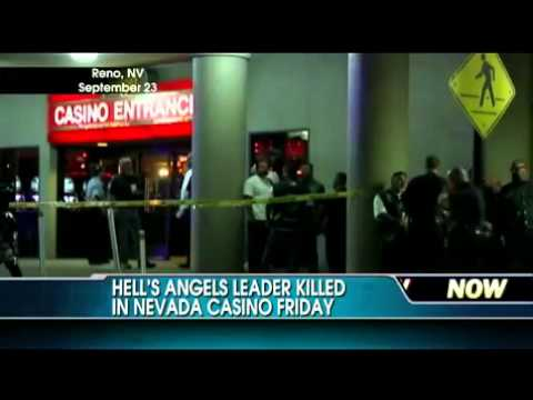 Biker Gang Leader Shot & Killed in Nevada Casino Hells Angels