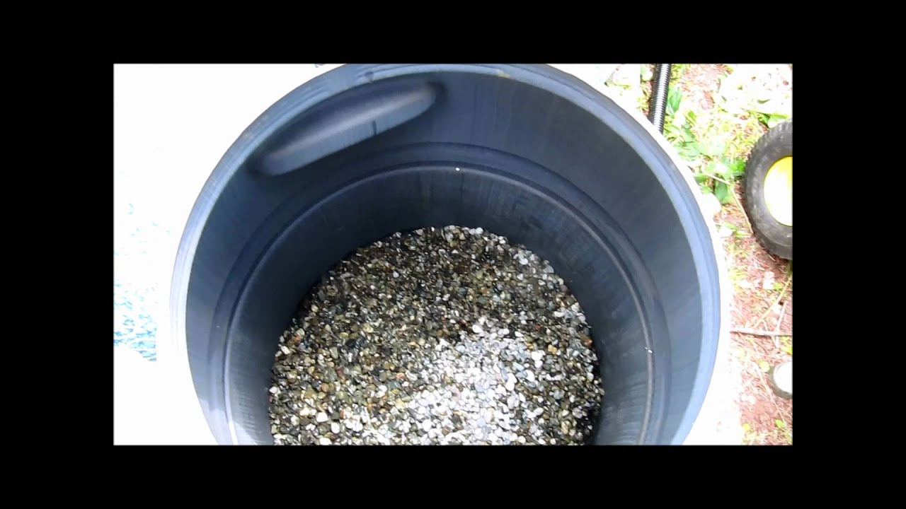 Pond filter for Build your own koi pond filter