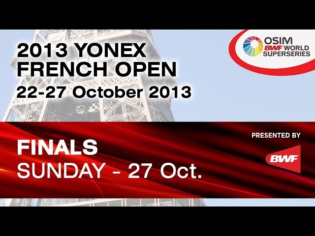 Final - MD - Koo K.K. / Tan B.H. vs G.M.Fernaldi / M.Kido - 2013 Yonex French Badminton Open