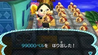 Animal Crossing: New Leaf Cheat Get Money And Items