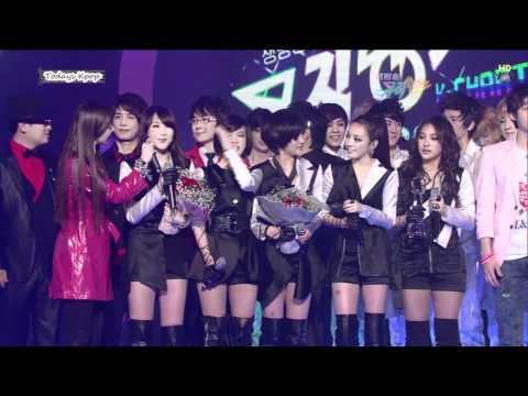 Kpop Winner Interview - 100312 SNSD & T-ARA & KARA