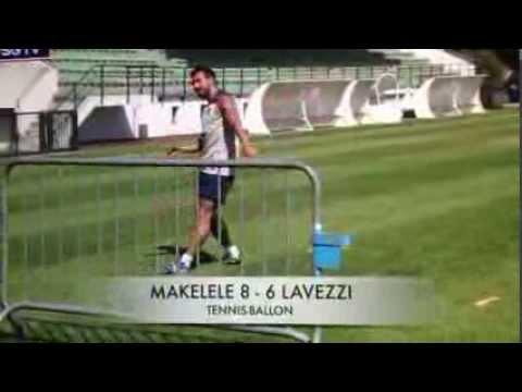 Lavezzi VS Makelele : tennis ballon
