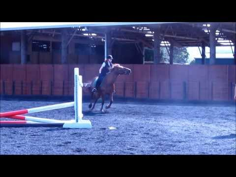 BLOOPERS OF 2013- HORSE RIDING