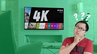 Tiêu chí ch�n TV 4K tốt!