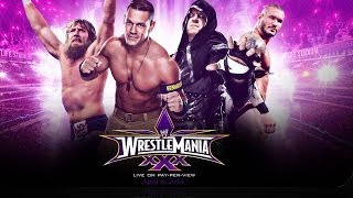 The BEST & MOST REALISTIC WWE Wrestlemania 30 Card Possible!