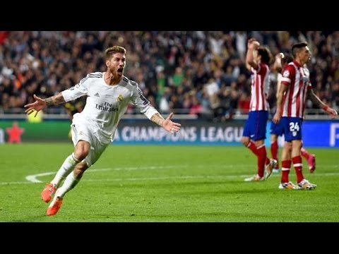 Real Madrid vs Atletico Madrid 4-1 All Goals 24-05-2014