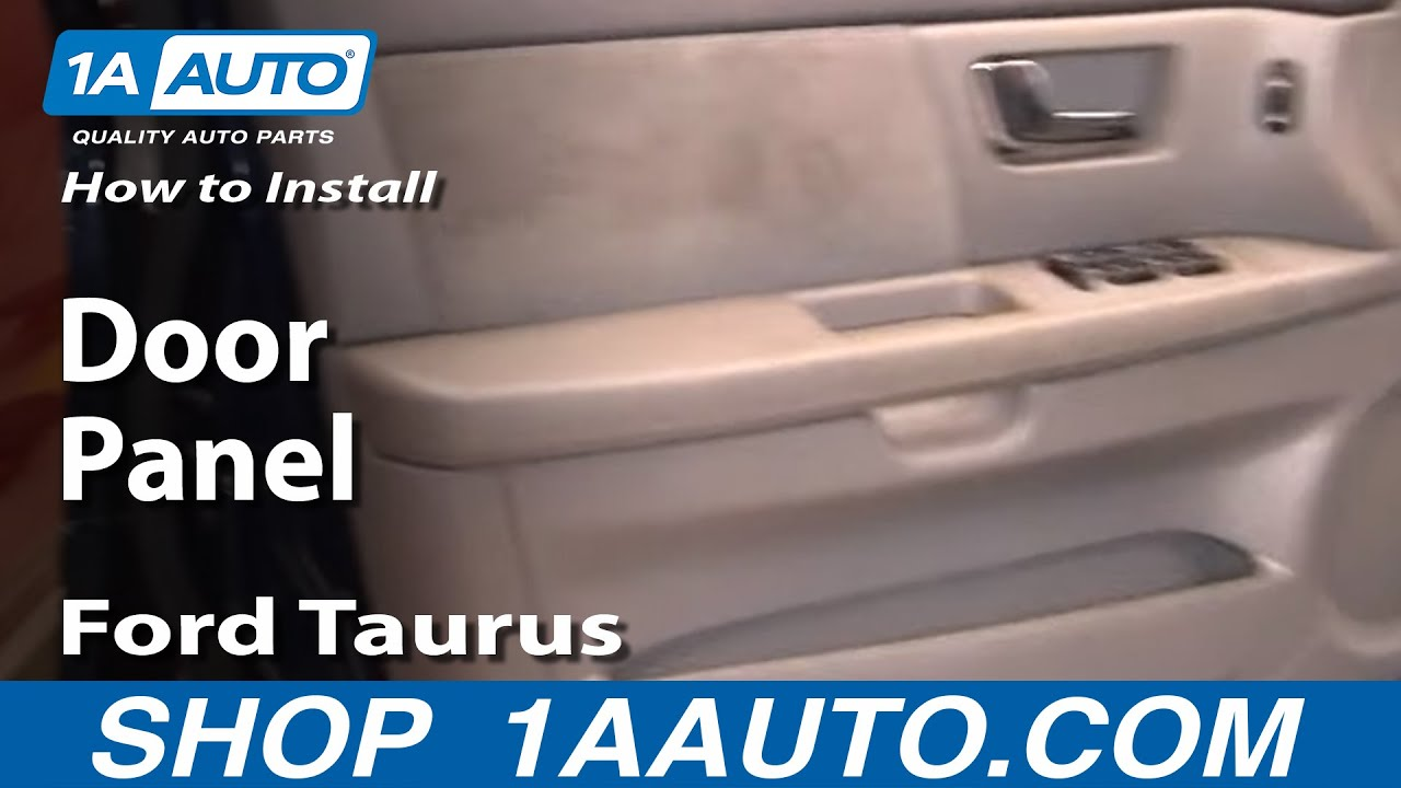 How To Remove Back Seat Ford Taurus 2002