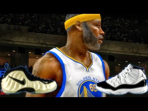 WILL GRANDPA CHOOSE NIKE OR JORDAN? NBA 2k16 My Career Xbox 360 Gameplay Ep. 6