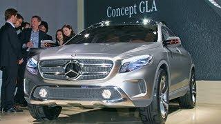 Mercedes GLA Concept in Shanghai videos