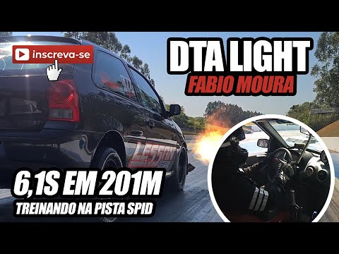 Treino SPID - DTA Light Fabio Moura - 6,1s em 201M - INJEPRO S8000