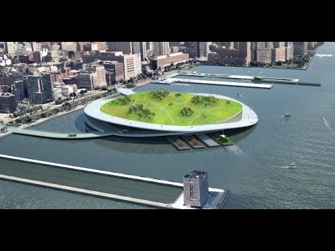 NYC's Proposed Compost Islands Turn Trash To Treasure