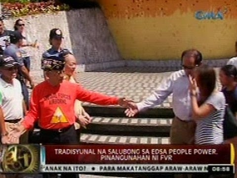 Paggunita sa 28TH EDSA People Power Anniversary bukas, sa Cebu gagawin