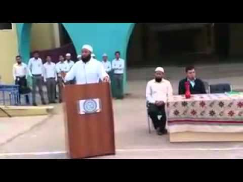 Touheed Mujawar speech 3rd half at Jamia