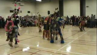Men's Chicken Dance Special 2012 Red Paint Pow Wow Silver