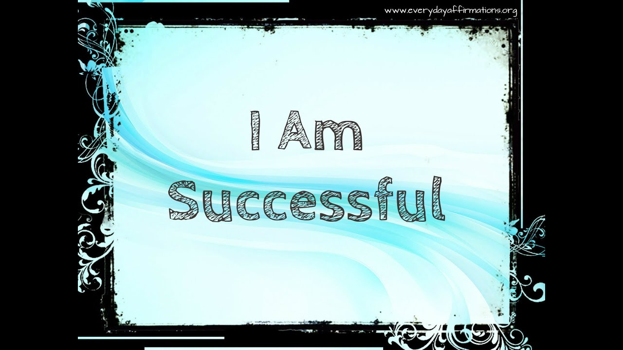 21 Affirmations for Success - YouTube