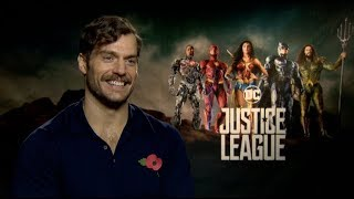 Henry Cavill on the black Superman suit, how he could return from the dead, Justice League, more