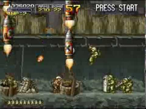 PSX Longplay [194] Metal Slug X