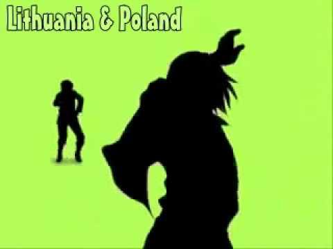 iHetalia iPod dance party - Axis Powers Hetalia [ APH ] (with names)