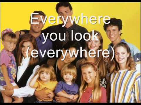 short full house theme song with lyrics youtube