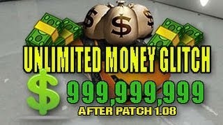 GTA 5 Online UNLIMITED MONEY GLITCH AFTER PATCH 1.08 (GTA
