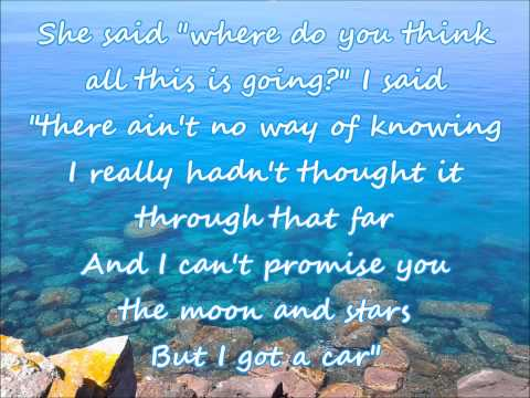 George Strait - I Got A Car (with lyrics)