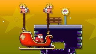 santa run 2 walkthrough, guide and cheats