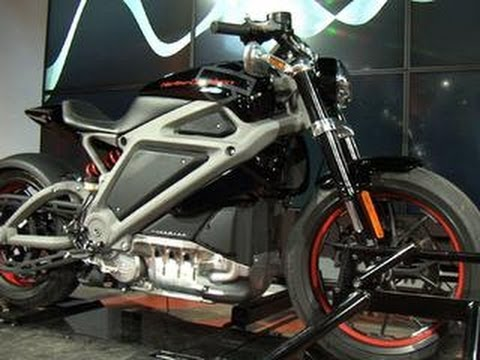 Riding Harley-Davidson's all-electric Project LiveWire in the streets of NYC