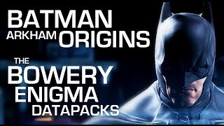 Batman: Arkham Origins Enigma Data Packs The Bowery