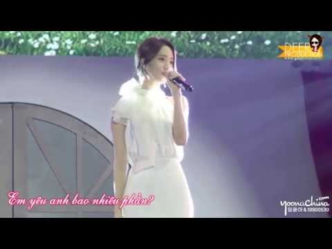 [160702][Vietsub] Ánh trăng nói hộ lòng tôi  - Yoona
