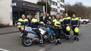 NRWspot.de | Hagener Polizei stellt die Kradgruppe in neuer Schutzkleidung vor
