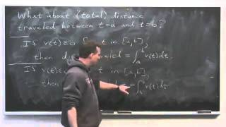 Worldwide Calculus: Displacement and Distance Traveled in a Straight Line