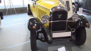 [Citroën C4 Cabrio (1928) Exterior and Interior in 3D 4K UHD] Video