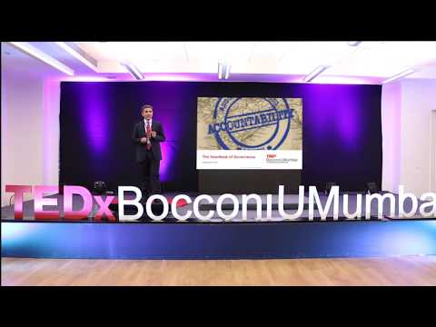 Accountability - the heartbeat of Governance | Jay P Desai | TEDxBocconiUMumbai