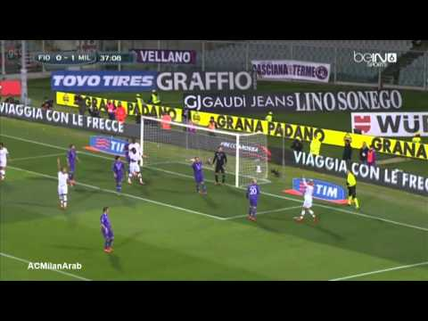 Fiorentina 0-2 AC Milan | 20132014 | Full Highlights Arabic Comm.