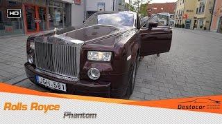 Обзор Rolls Royce Phantom из России в Германии Денис Рем Дестакар