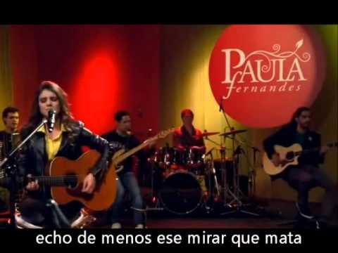 Paula Fernandes Eu sem você (subtitulado español) (Serenata de Amor)