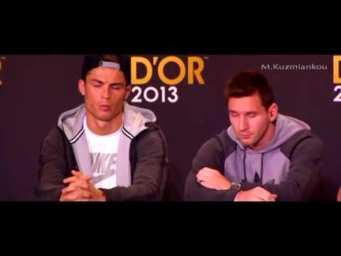 Messi , Ronaldo đùn đẩy nhau trả lời phỏng vấn