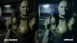DOOM 3 Vs DOOM 3 SIKKMOD (+texture Packs)