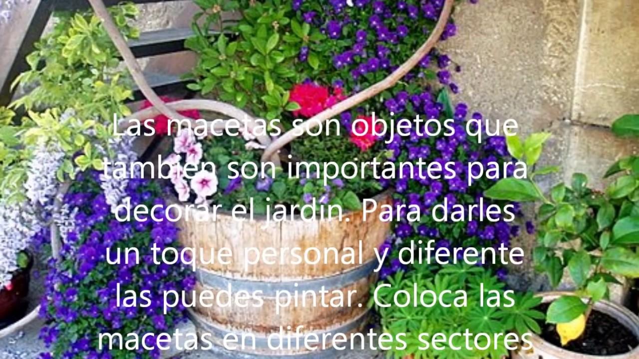 C mo decorar un jardin youtube - Como adornar un jardin ...
