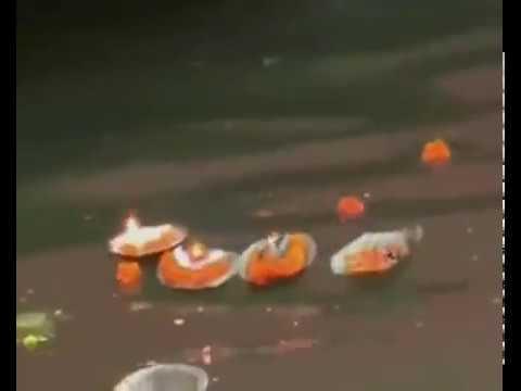 Varanasi sensation on bank of holi river Ganges